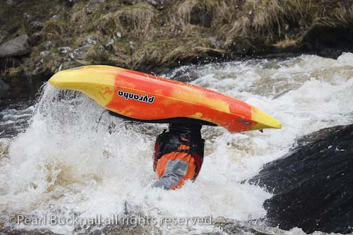 Whitewater kayaking background