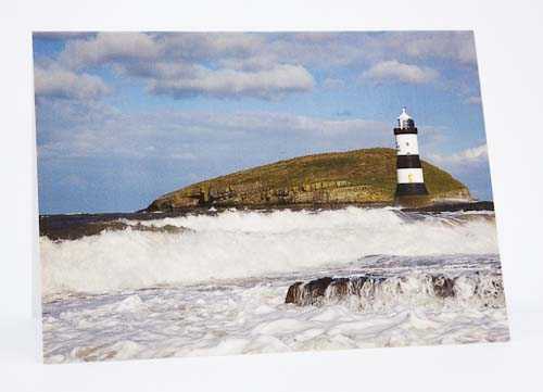 Penmon Point Lighthouse, Isle of Anglesey, North  Wales, UK
