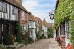 Mermaid Street, Rye, East Sussex, England, UK, Britain, 